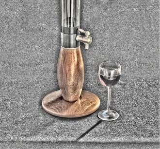 ZHIRAFFE tabletop dispenser for 1 liter