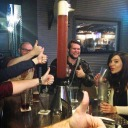ZHIRAFFE beer bongs in Brickhouse