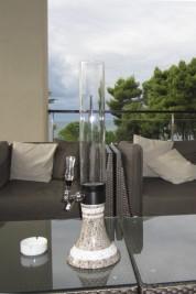 Limestone beer dispenser - giraffe - Hotel in Istria