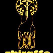 zhiraffe giraffe beer dispenser logo